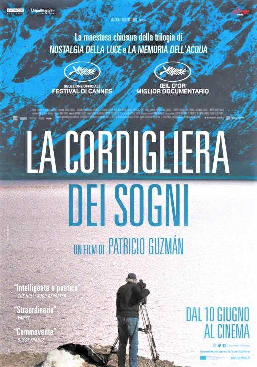 La Cordigliera dei sogni, un film documentario dedicato al Cile