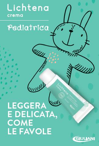 Giuliani: nuova Crema Pediatrica Lichtena per la pelle delicata del bambino