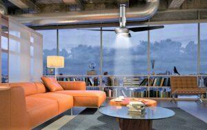 Arredare con i Nordik® Air Design. Le pale a soffitto configurabili