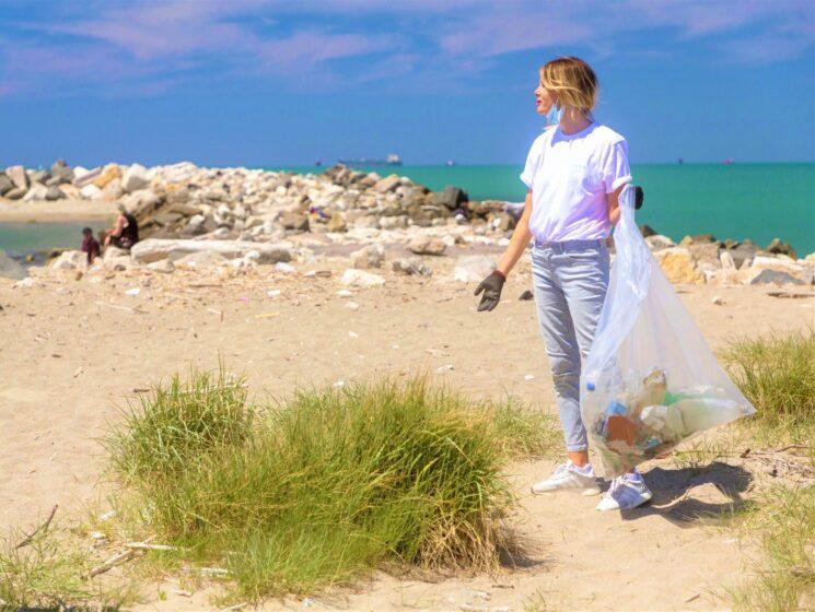 Alessia Marcuzzi con Clean the Beauty per la Giornata Mondiale degli Oceani