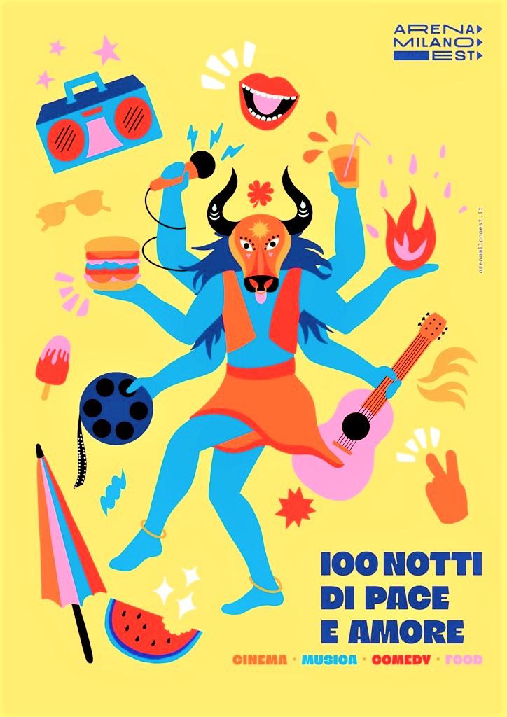 Film Food Festival 18-20 giugno   notti di cinema ARENA MILANO EST Teatro Martinitt