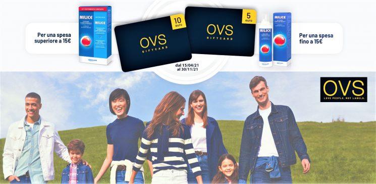 Milice: per premiare i suoi consumatori una giftcard digitale OVS