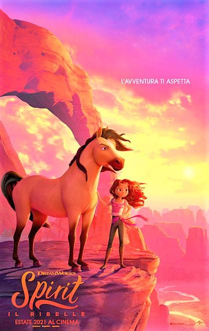 Spirit – Il Ribelle, un film d'animazione, western/avventura