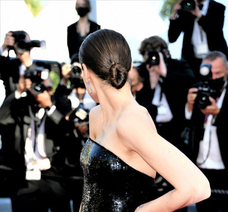 Hair Cotril per Kasia Smutniak al Festival di Cannes 2021