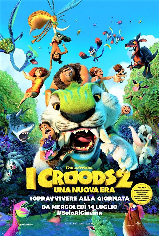"""""""I Croods 2 – Una nuova era"""", vivace avventura preistorica"""