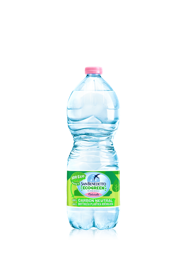 Acqua Minerale San Benedetto: nasce Ecogreen 100 Eco, il non plus ultra della sostenibilità