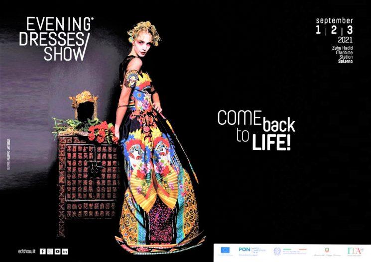 Evening Dresses Show dall'1 al 3 settembre: al via 3ª edizione