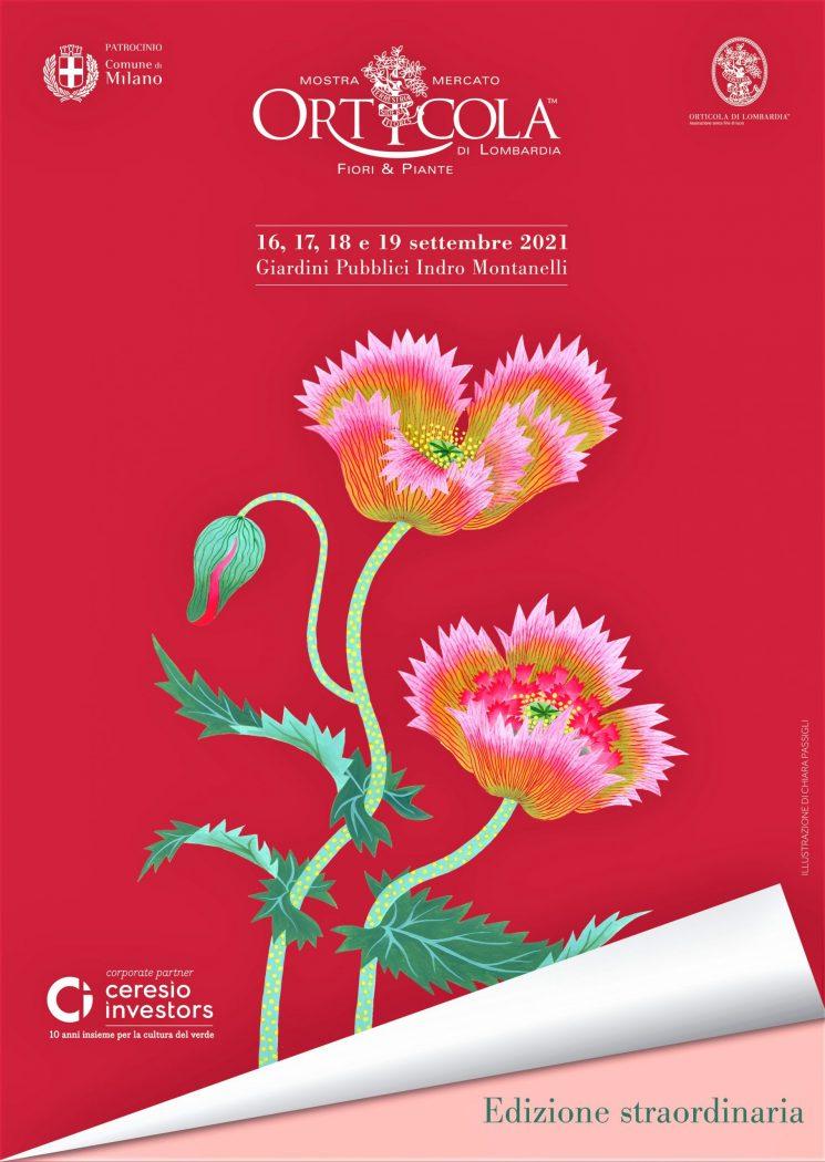 Orticola 2021, edizione straordinaria dal 16 al 19 settembre