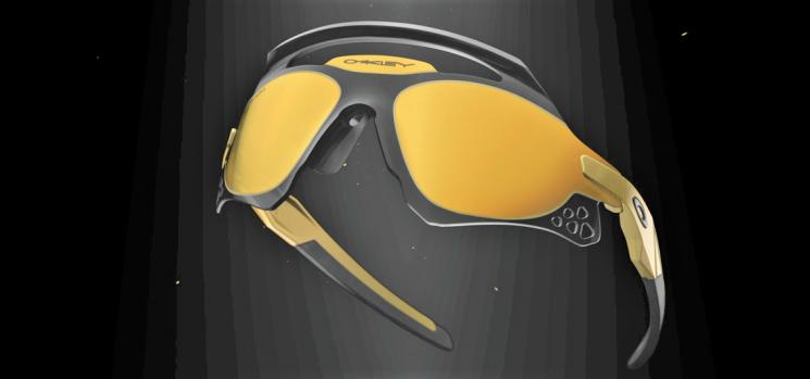 Oakley Xeus, montatura futuristica che evoca dèi e guerrieri
