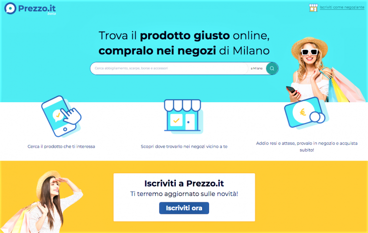 Prezzo.it: al via da Milano il servizio che favorisce gli acquisti nei negozi di quartiere