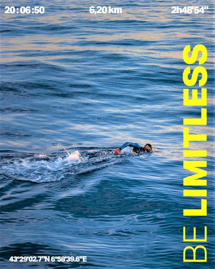 Aquasphere lancia la campagna #BeLimitless