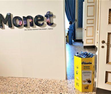 Ricola partner della mostra dedicata a Monet a Palazzo Reale di Milano