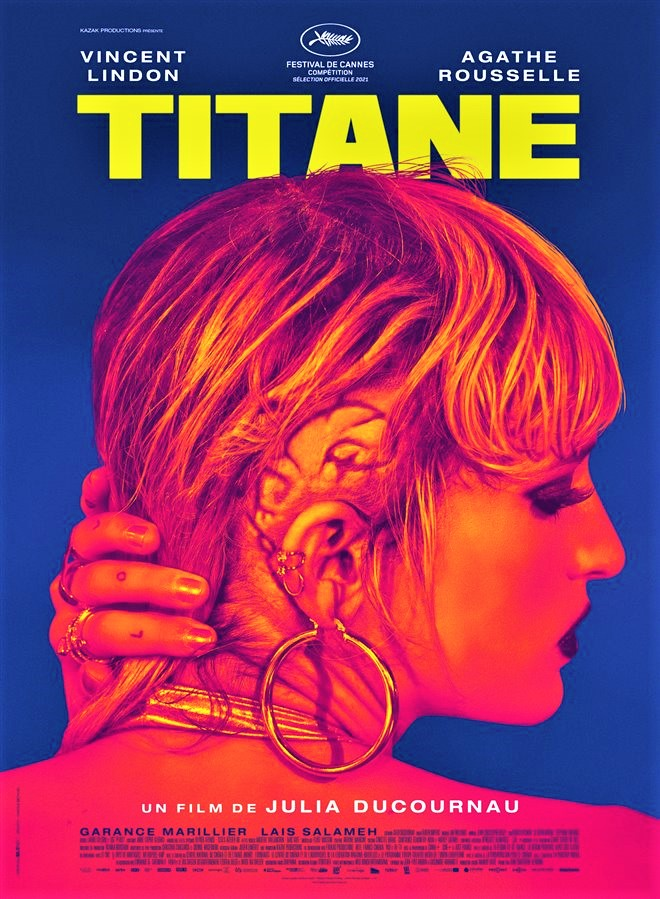 """Titane"", Palma d'Oro a Cannes dal 1° ottobre nei cinema"