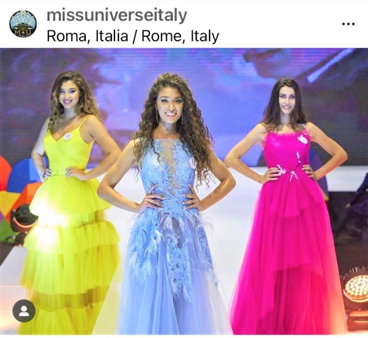 Miss Universe Italy 2021 Caterina di  Fuccia  verso la finale mondiale in Israele
