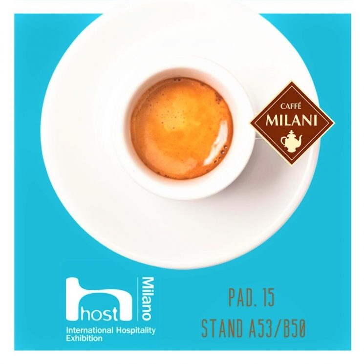 Caffè Milani, uno stand dinamico con tante nuove idee per fare business a HostMilano