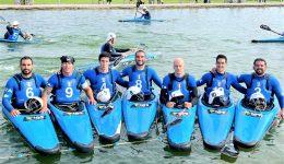 LB9 veste la squadra nazionale ai Campionati Europei di Canoa Polo