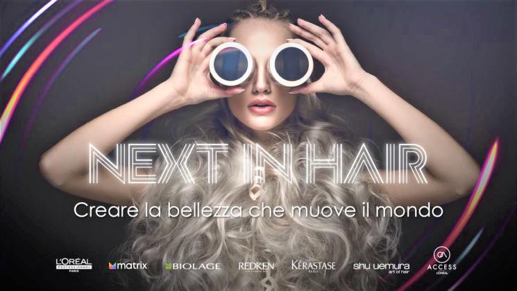 L'Oréal Prodotti Professionali presenta Next In Hair per scoprire i trend del 2022