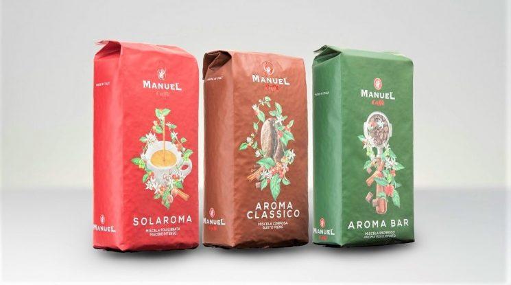 Manuel Caffè a HostMilano con le nuove miscele professionali