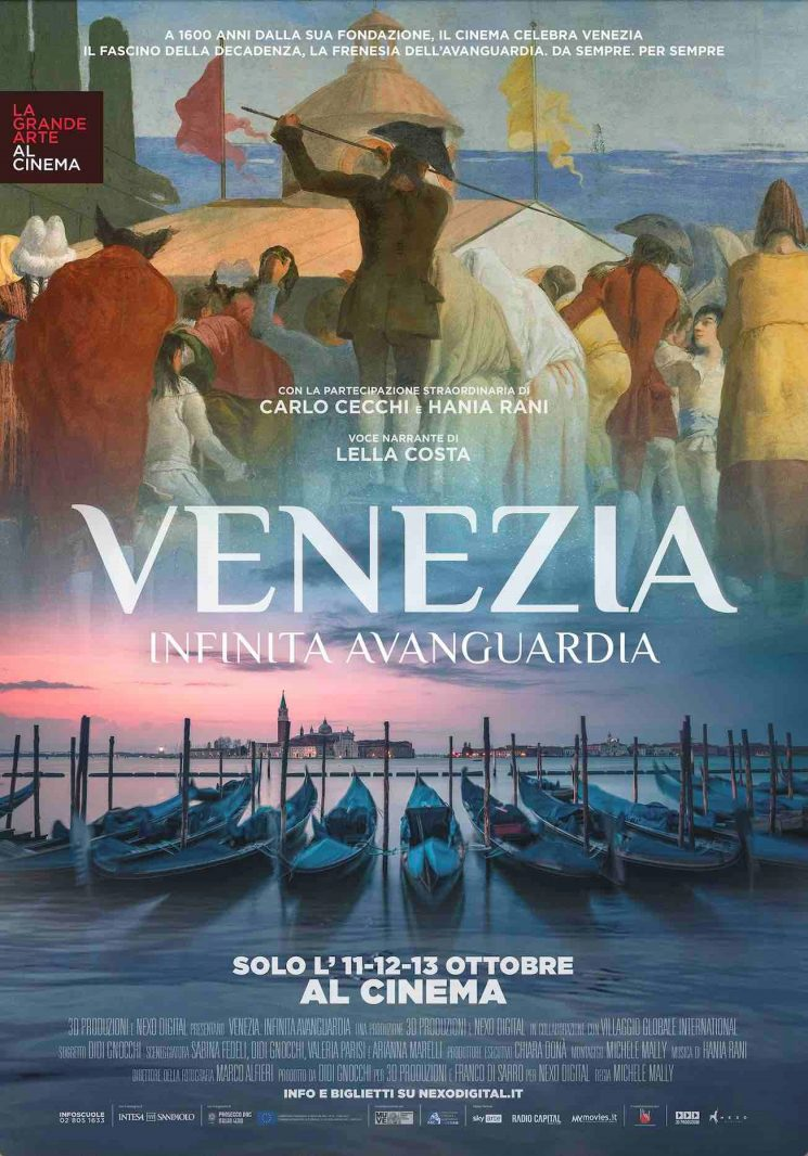 Venezia. Infinita Avanguardia, un docu-film d'arte imperdibile